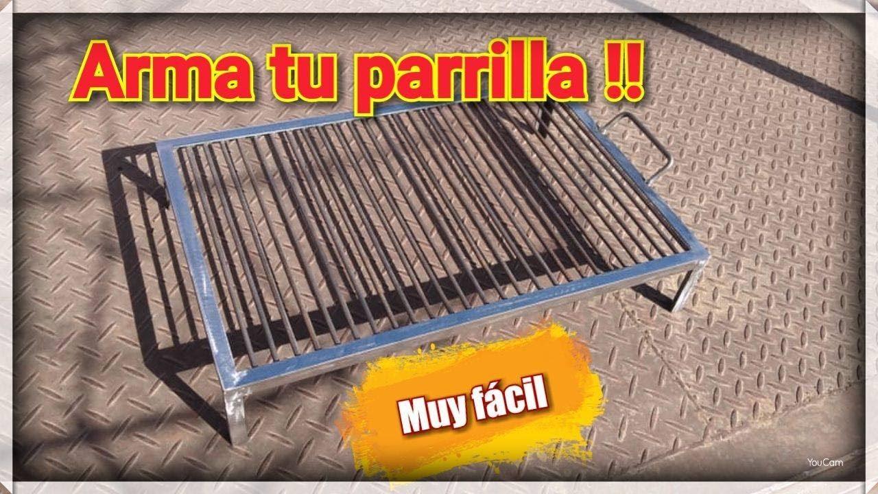 DIY Como ARMAR tu PARRILLA #herreriasinsecretos