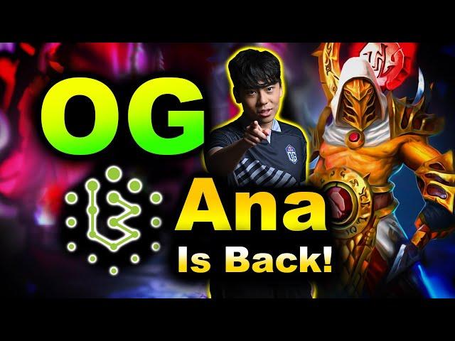 ANA IS BACK! - OG vs BRAME - DPC EU DREAMLEAGUE S15 DOTA 2