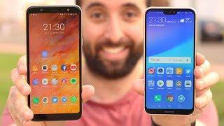 Huawei P20 LITE vs Galaxy A6 PLUS, ¡COMPARATIVA!
