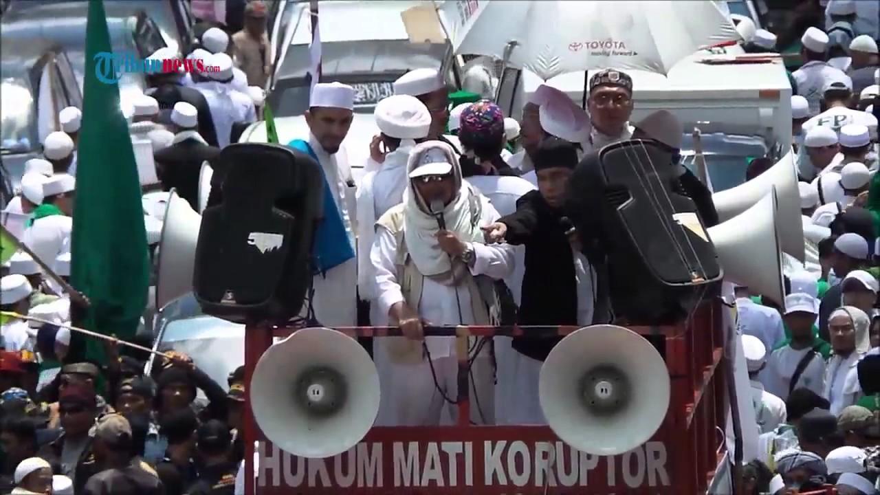 Fpi Dan Fbr Demo Desak Kpk Tangkap Gubernur Ahok Habib Rizieq Marah Marah Tak Diterima Pimpinan Kpk Youtube
