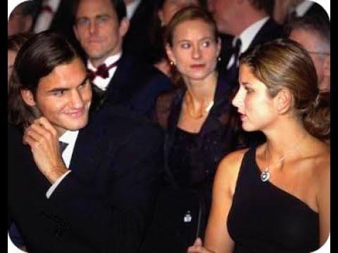 Roger Federer Miroslava Vavrinec Before Getting Married Youtube