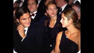 Roger Federer & Miroslava Vavrinec Before Getting Married