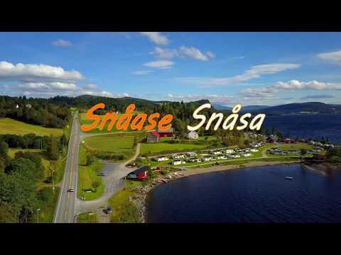 Snåase Snåsa kommune fra lufta