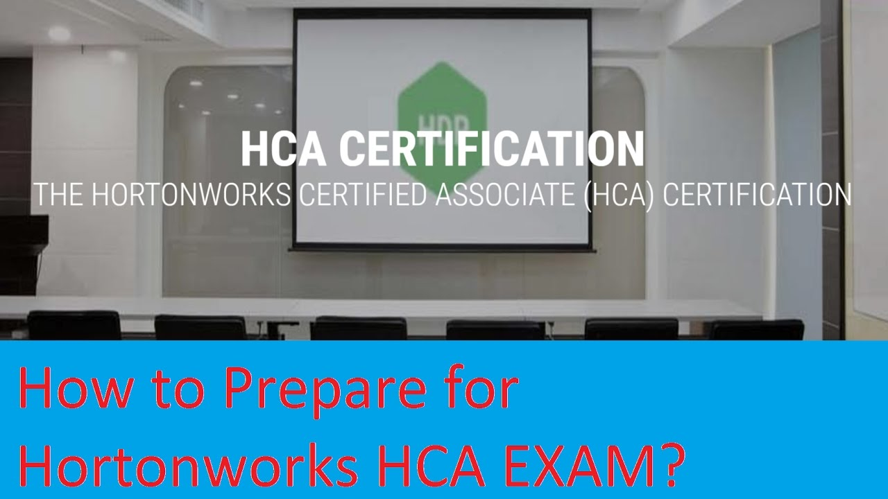 How To Clearn Hortonworks Hca Exam Tips And Tricks Youtube