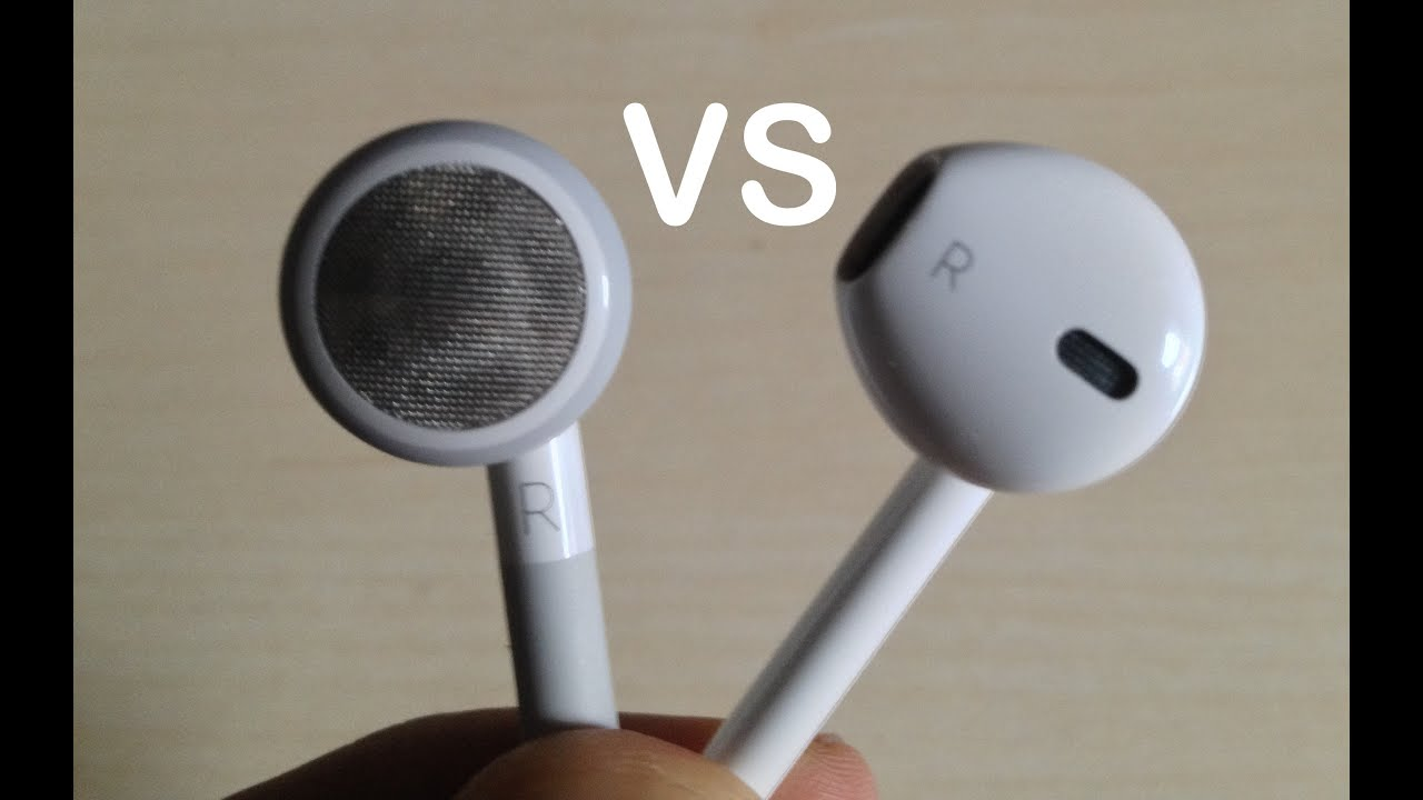 Comparison Between Apple EarPods And Old Apple Headphones - YouTube 71f669102c6e6