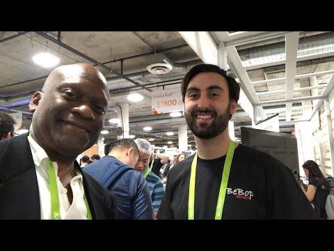 BeBop Fabric Sensors Interview At CES 2018 #CES2018