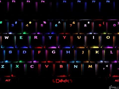 DECK Mantella RGB Keyboard Review [Coolenjoy ] 4K