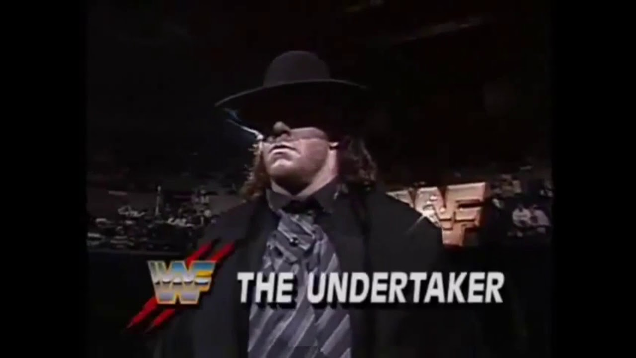 Undertaker vs Jobber George Anderson WWF Superstars 1991 ...