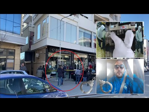 Kapet autori i grabitjes se argjendarise ne Elbasan   ABC News Albania