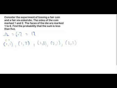 Probability of fair pair of dice from YouTube · Duration:  9 minutes 26 seconds