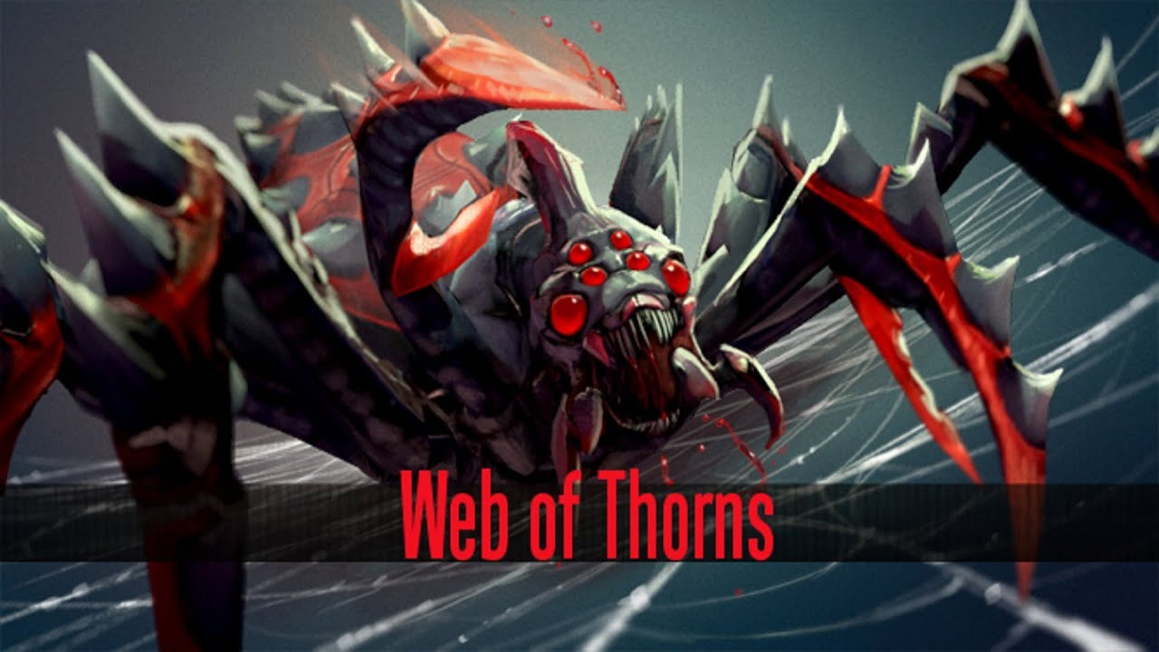 dota 2 store broodmother web of thorns set youtube