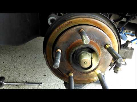Corvette Rear Brakes Pads And Rotors Install By Froggy