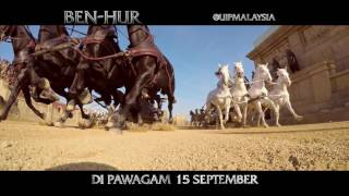 Ben-Hur   Featurette: Chariot Race   Paramount Pictures Malaysia
