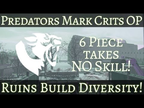 Lets Talk About Predators Mark (1.8.3) The Division Troll PvP