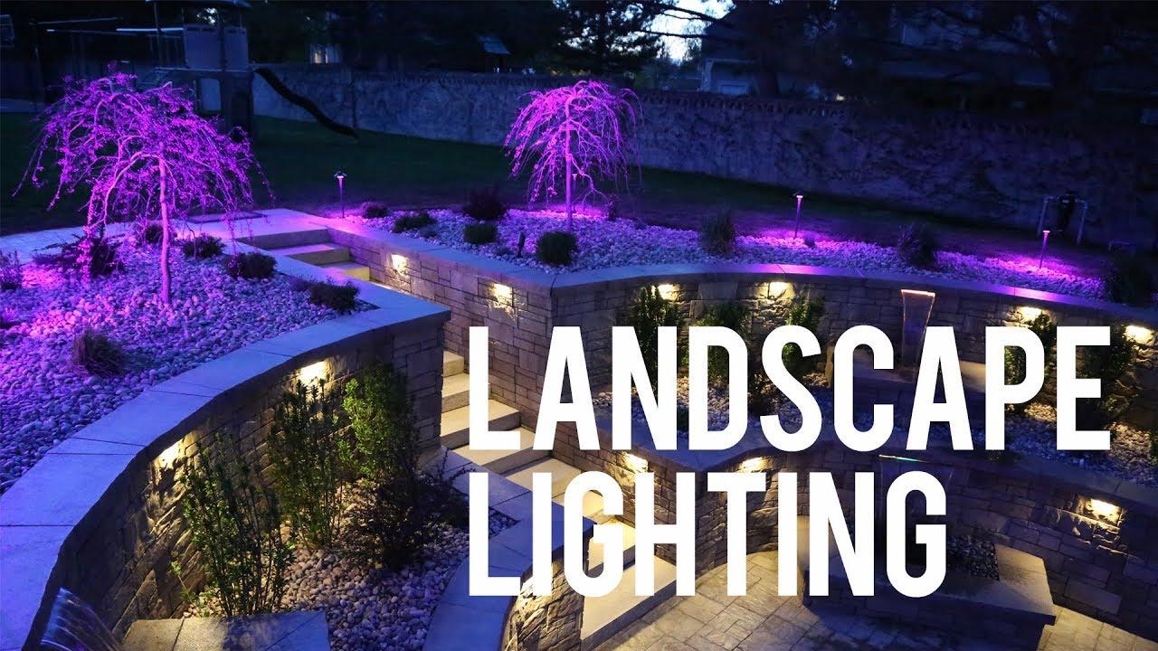 Landscape Lighting In Utah Affordable Lawn Care And Landscape