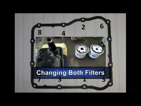 Duramax/Allison - Changing Transmission Filters and Fluid