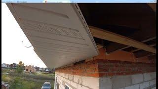 Устройство карниза крыши: отделка, ширина, видео-урок