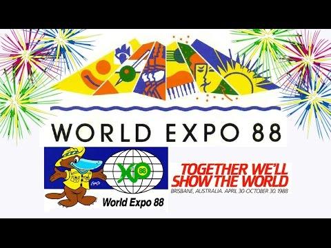 World Expo 88 Fireworks Brisbane Australia Youtube