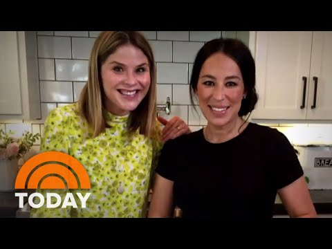 Joanna Gaines Welcomes Jenna Bush Hager To Her Kitchen | TODAY