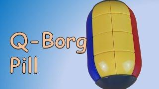 unboxing q borg pill puzzle
