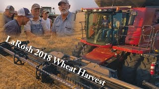 LaRosh 2018 Wheat Harvest (4K)