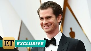 EXCLUSIVE: Andrew Garfield Teases Who He'll Kiss At The Oscars Brings Parents As His Dates!
