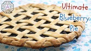 Ultimate Blueberry Pie using Frozen Blueberries / Aeriskitchen