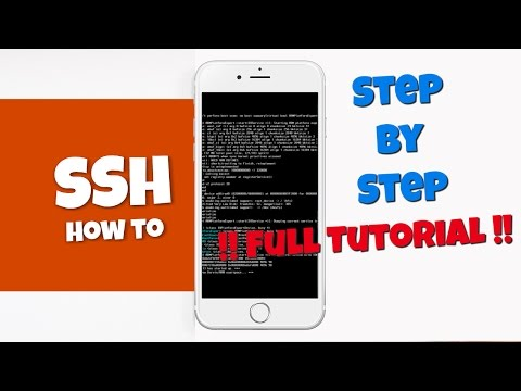 SSH into iPhone 5 using WinSCP
