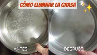 Cómo limpiar el microondas y acabar con la grasa. How to clean a microwave and remove grease.