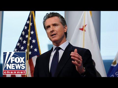 CA Democrats pass bill to move up Newsom's recall vote