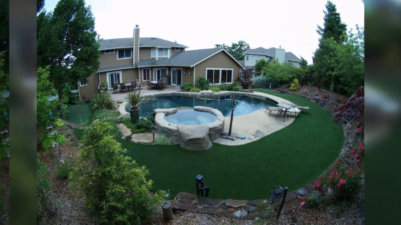 Synthetic grass installation around a swimming pool in the san francisco bay area youtube for Swimming pool contractors san francisco bay area