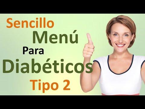 Menú de Dieta Para Diabéticos Tipo 2 DELICIOSO!!!