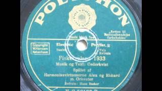 Fiskervalsen 1933 - Harmonikavirtouserne Alex og Richard; Hans Bacher 1933