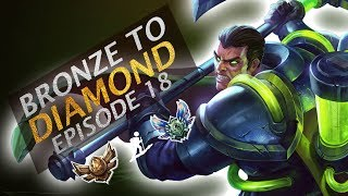 How to TILT Enemies in Low Elo | Depths of Bronze to Diamond Episode #18 | Dunking with Darius