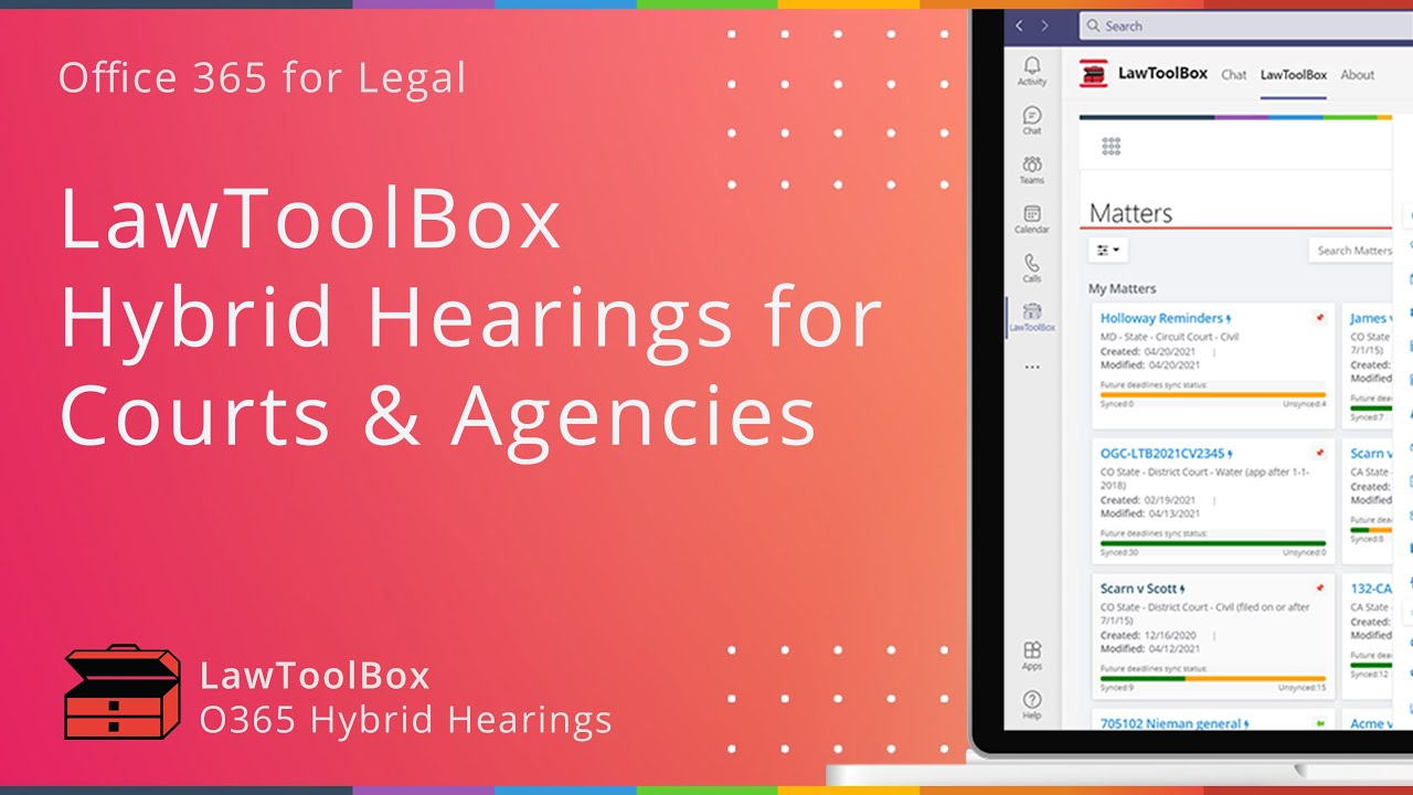 LawToolBox Adds Custom Breakout Rooms and File Sharing to Microsoft Teams