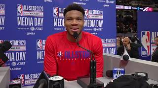 All-Star 2020 Captain Giannis Antetokounmpo's Full Media Day Availability
