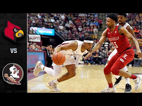 Louisville vs Florida State Men's Basketball Highlights (2019-20)