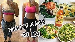 Lose 10 Pounds In One Week Fast | What I Eat In A Day Meal Prep | Apple Cider Vinegar Weight Loss