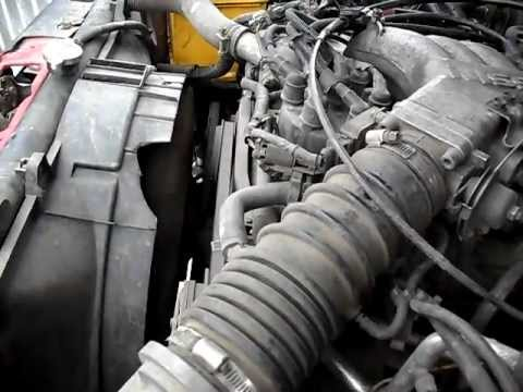 nissan pathfinder engine diagram 2006 chevy silverado stock radio wiring terrano 1992 vg30e - youtube