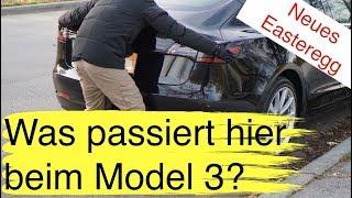 Tesla Model 3: Witziges