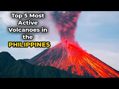 Top 5 Most Active Volcanoes in the Philippines - YouTube