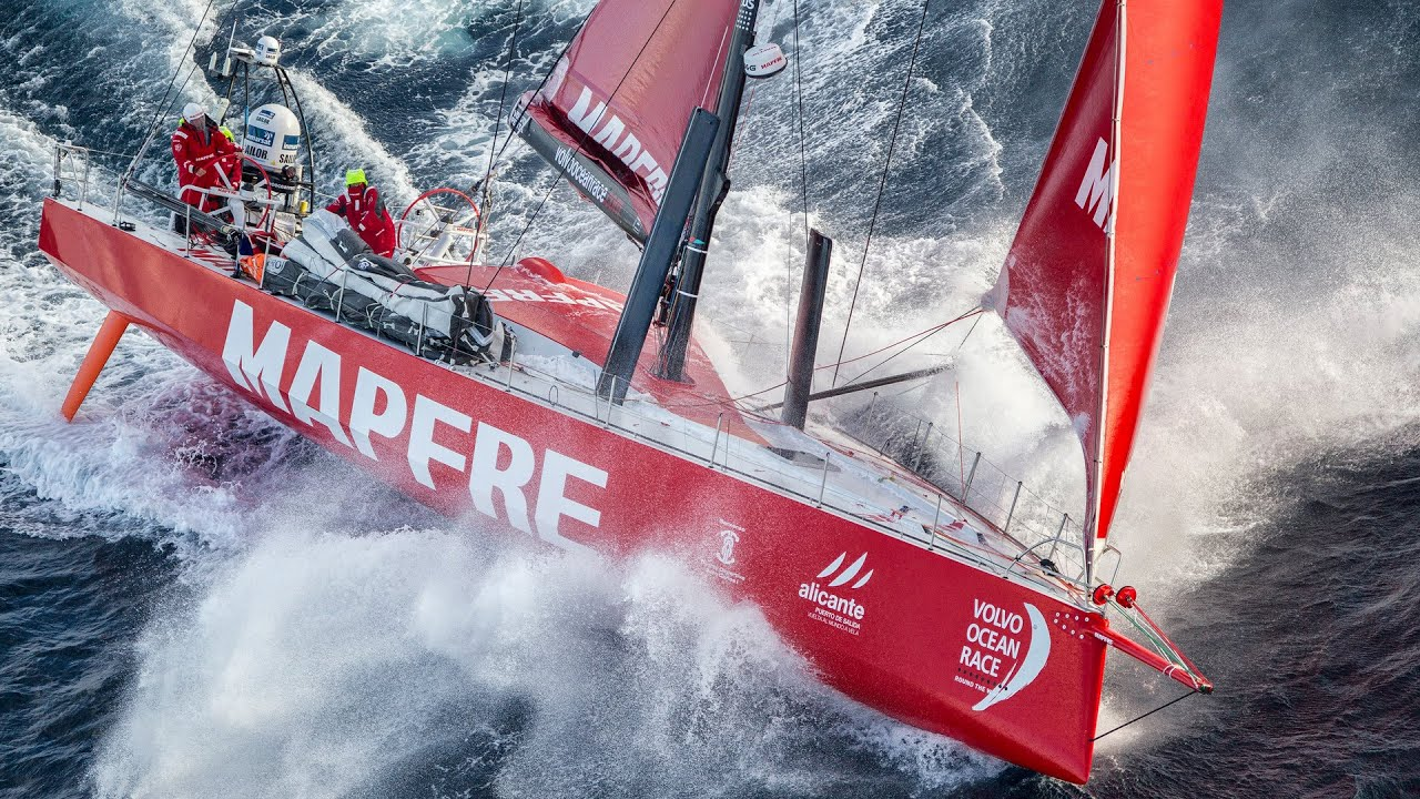 Riding the storm | Volvo Ocean Race - YouTube