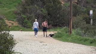Justin Bieber and Ashley moore have a Great Hike in Burbank