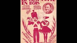 """Georges Milton """" le trompette en bois """"  1964"""
