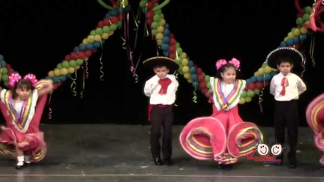 dd52bf4a7cd Winnetka Preescolar - Baile Regional - YouTube