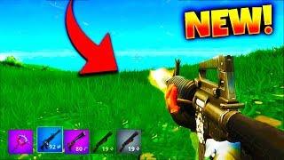 NEW FORTNITE SHOOTING UPDATE! - Fortnite Battle Royale Steady Aim/Aimbot Update