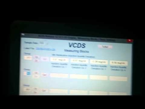 04 Volkswagen TDI VCDS MEASURING BLOCKS