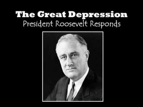 the societys discontent over the great depression sweeps theodore roosevelt into presidency The progressive presidents included theodore roosevelt  of the stock market crash and the great depression people should be assimilated into society t:.