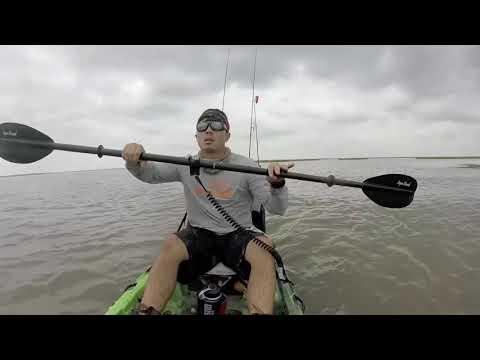 Kayak Fishing for Redfish Bayou Vista Skinny Water Fishing Pierce Marsh