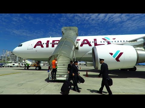 TRIP REPORT | FIRST Air Italy A330 (ECONOMY) | Rome FCO to Milan MXP | Empty Flight!
